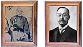 Основатели Toshiba Хисашиге Танака и Ичисуке Фудзиока